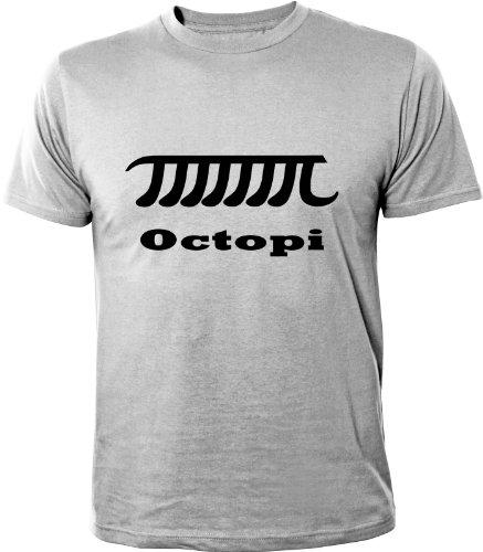 Mister Merchandise Cooles Fun T-Shirt Octopi Pi Math esercizi sfigata
