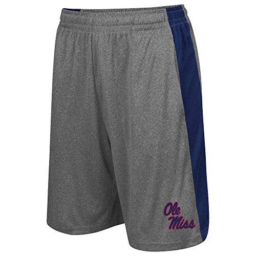 Mens NCAA Ole Miss Rebels Basketball Shorts  - XL