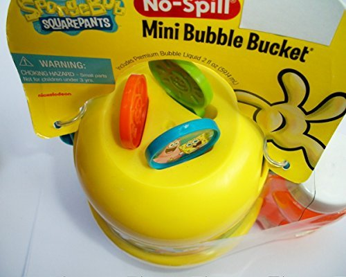 Spongebob squarepants patrick star no spill mini bubble for Mini bubble wands