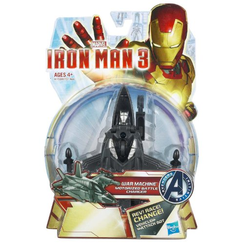 Marvel Iron Man 3: War Machine Motorized Battle Charger - 1