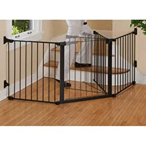 Kidco Kid's Auto Close Configure Gate, Black