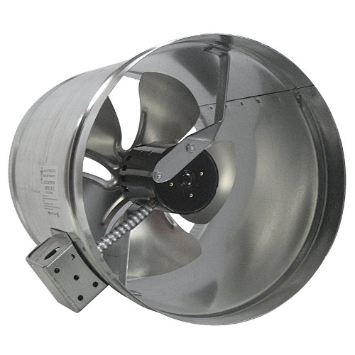 Tjernlund EF-10 Duct Booster Fan, 475 CFM, 10