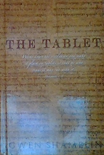 Libro : The Tablet:write Down the Revelation and Make It Plain on Tablets so That He Who Reads It May Run with It. Habakkuk 2:2 [+Peso($35.00 c/100gr)] (US.ME.19.99-0-1892729229.2)