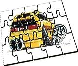 Personalised Koolart Honda CRX Car Wooden A5 Jigsaw