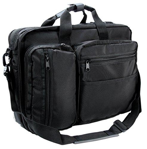 [Austin Levi] Laptop Bag 3way Water Proof/ Water Repellent Shoulder Messenger Bag Computer Business Briefcase Expandable iPad Men's
