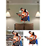 Acrylic Paint Drip From Photo Wall Sticker - Mural Painting Using Your Photo