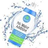 Dog Breath Freshener - Pet Water Additive for Dogs (and Cats) - Dental Oral Care to Freshen Breath, Clean Teeth and Reduce Plaque & Tartar