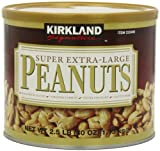 Kirkland Signature Super XL VA Peanuts, 40 Ounce
