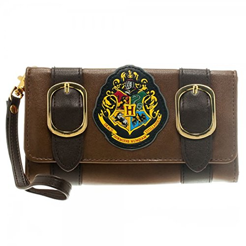 Harry Potter Hogwarts School Emblem Satchel Tri-Fold Wallet