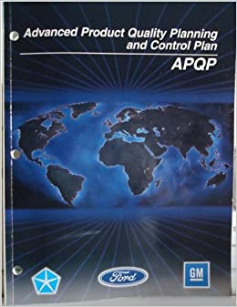 advanced product quality planning and control plan reference manual