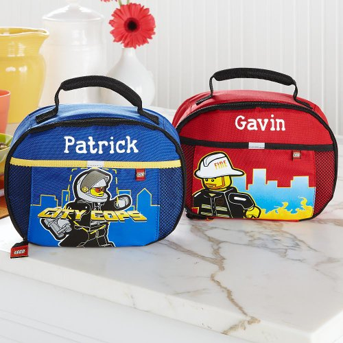 Personalized LEGO Insulated Lunch Bags