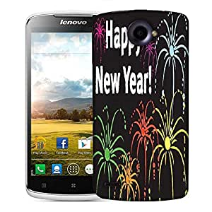 Snoogg Happy New Year Designer Protective Phone Back Case Cover For Lenovo S920