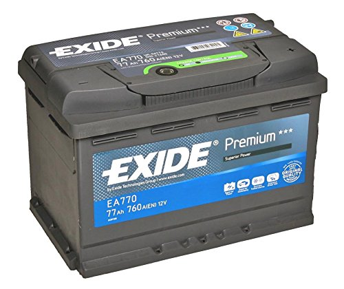 exide premium superior ea770 preisvergleich autobatterie. Black Bedroom Furniture Sets. Home Design Ideas