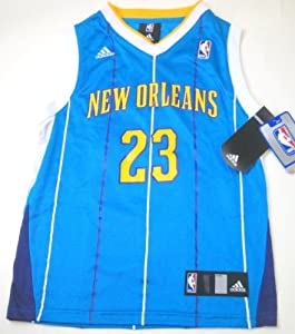 New Orleans Hornets Anthony Davis Youth Road Jersey #23 NBA by adidas