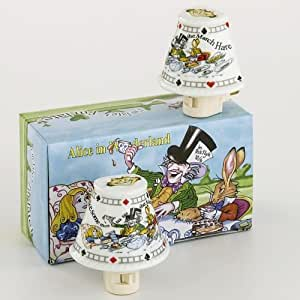 amazon com alice in wonderland night light set cardew