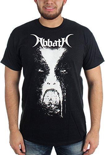 Abbath Face-Maglietta da uomo nero Large