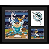 Florida Marlins MLB Limited Edition Lithograph Featuring The Looney Tunes As Florida Marlins