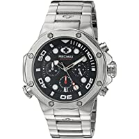Precimax PX14002 Men's Guardian Pro Stainless-Steel Quartz Watch (Silver)