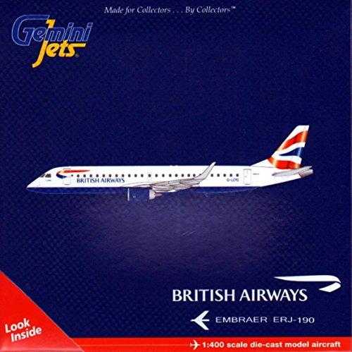 Gemini Jets British Airways ERJ-190 Die-Cast Aircraft (1:400 Scale)