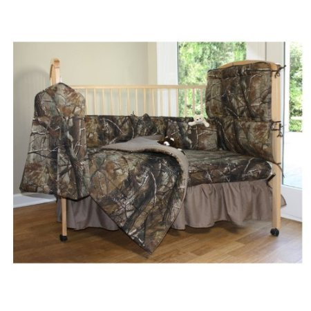Realtree All Purpose Crib Bedskirt front-738744