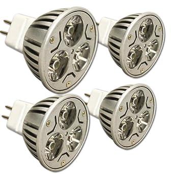 Infinity Led Light Bulb 3w Mr16 Warm White 4 Pack