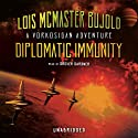 Diplomatic Immunity: A Miles Vorkosigan Novel (       UNABRIDGED) by Lois McMaster Bujold Narrated by Grover Gardner
