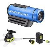 Contour 1800BU 1080p Roam2 Waterproof Action Camera (Blue) Bundle