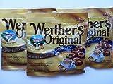 Werther's Original Sugar Free Hard Candies Bundle of 3 Bags of Caramel Coffee Sugar Free Hard Candies