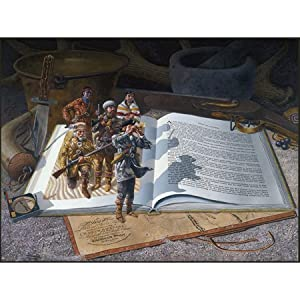 Don Crook Lewis and Clark Jigsaw Puzzle 500pc