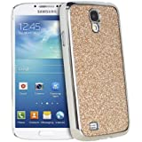 Fosmon GLITTER Sparkle Design Series Bling Hard Case for Samsung Galaxy S4 IV / i9500 (Gold)