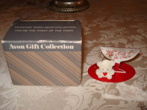 Avon Gift Collection Vintage Valentine Teddy