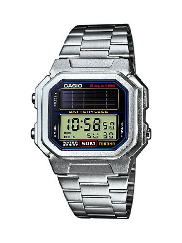 Casio Collection Herren-Armbanduhr Solar-Kollektion Digital Quarz AL-190WD-1AVEF
