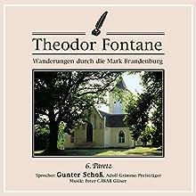 Paretz (Wanderungen durch die Mark Brandenburg 6) Hörbuch von Theodor Fontane Gesprochen von: Gunter Schoß