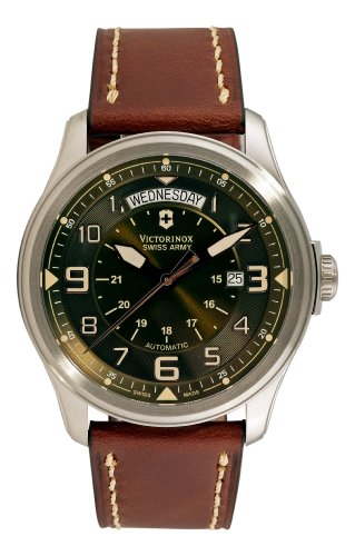 Victorinox Swiss Army Men's 241396 Infantry Vintage Day and Date Mecha Watch