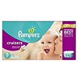 Pampers Cruisers Diapers Size 5 Economy Pack Plus 132 Count