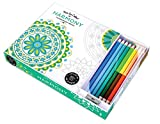 img - for Vive Le Color! Harmony (Adult Coloring Book and Pencils): Color Therapy Kit book / textbook / text book