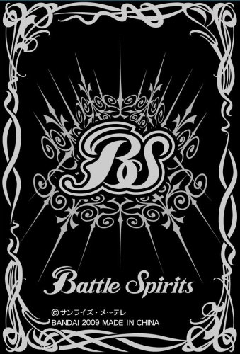 Battle Spirits - Hologram Card Sleeve (Black) - 1