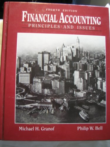 Financial Accounting: Principles and Issues (Prentice Hall series in accounting)
