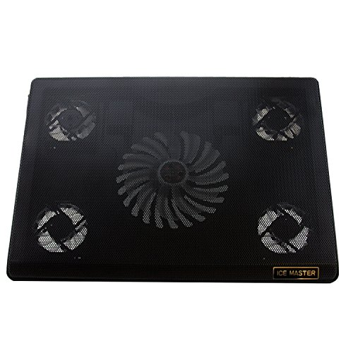 """Lb1 High Performance New Super Cooling Fan For Acer Aspire Ultrabook 15.6"""" Laptop 6Gb Memory 500Gb Hard Drive + 20Gb Solid State Drive Black Nx.Ry8Aa.005 5-Fan Cooling System Cooling Pad With Hyper Surface Design"""