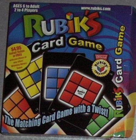 Puzzle Game Rubiks Card Game