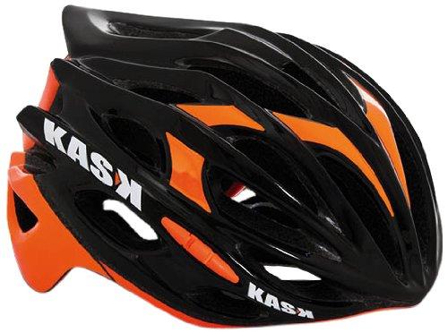 Kask Casco da ciclismo rapido, unisex, Mojito, Black - schwarz - Schwarz / Orange