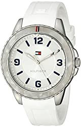 Tommy Hilfiger Women's 1781541 Everyday Sport Analog Display Quartz White Watch