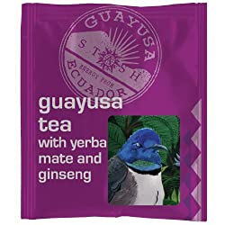 Guayusa Tea with Yerba Mate and Ginseng