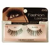 Ardell Fashion Lashes False Eyelashes - #122 Black (Pack of 4)