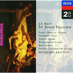 "J.S. Bach: St. John Passion, BWV 245 / Part Two - ""Consider, How His Body"""