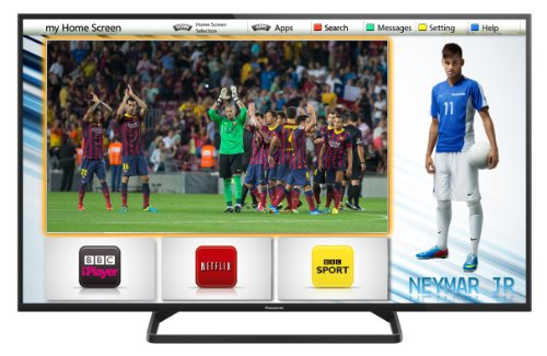 Panasonic TX-32AS500B 32-inch HD Ready Smart LED TV with Built-In Wi-Fi and Freeview (New for 2014)