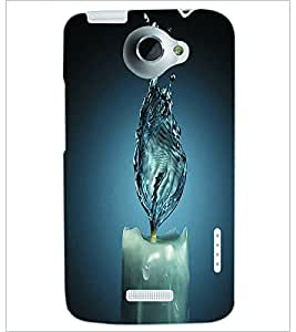 PRINTSWAG CANDLE Designer Back Cover Case for HTC ONE X