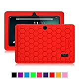 Fintie Silicone Case for 7 Inch Tablet inclu. Dragon Touch Y88X Plus / Y88X 7 Inch, Alldaymall A88X 7 Inch, Chromo Inc 7 Tablet, NeuTab N7S Pro 7, NeuTab N7 Pro 7, Tagital T7X 7, DanCoTek 7