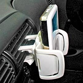 Bracketron IPM-201-BL Mobile iPod Docking Kit Car Vent Mount - White