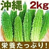 人気のゴーヤ【指定契約産地あり】 2Kgセット(沖縄夏野菜の定番)